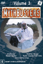 Mythbusters - Vol. 3 on DVD