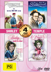 Shirley Temple Collection (the Story Of Seabiscuit, Adventure In Baltimore, The Little Princess, Baby Take A Bow) (2 Disc) on DVD