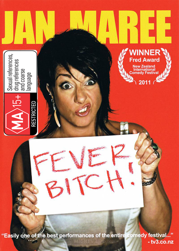 Jan Maree: Fever Bitch! on DVD