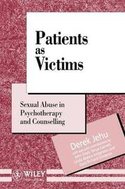 Patients as Victims by Derek Jehu image