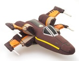 Star Wars The Force Awakens - Resistance X-Wing Super Deformed Plush