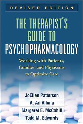 The Therapist's Guide to Psychopharmacology by JoEllen Patterson image