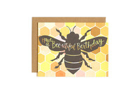 One Canoe Two: Bee-utiful Birthday - Greeting Card