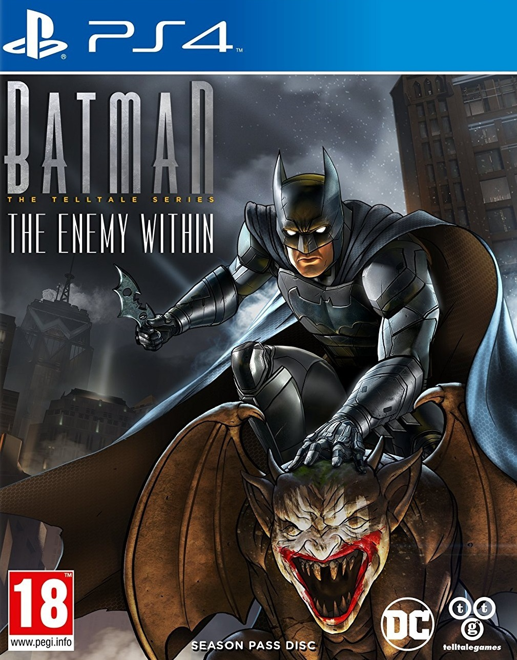 Batman: The Telltale Series - The Enemy Within for PS4 image