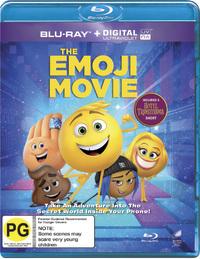 The Emoji Movie on Blu-ray