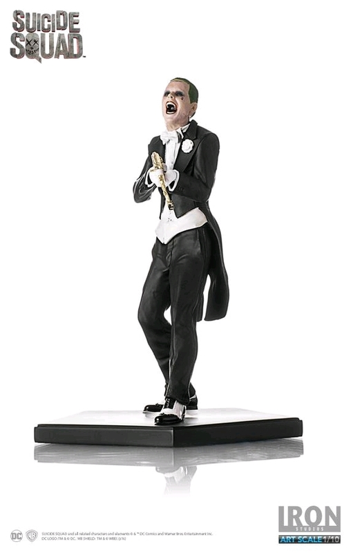 Suicide Squad - Joker 1:10 Scale Statue
