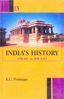 India's History by Kongetira Chinnappa Ponnappa