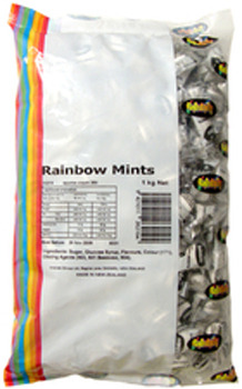 Rainbow Mints 1kg - Rainbow Confectionery image