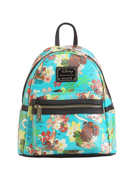 Loungefly: Moana - Floral Mini Backpack