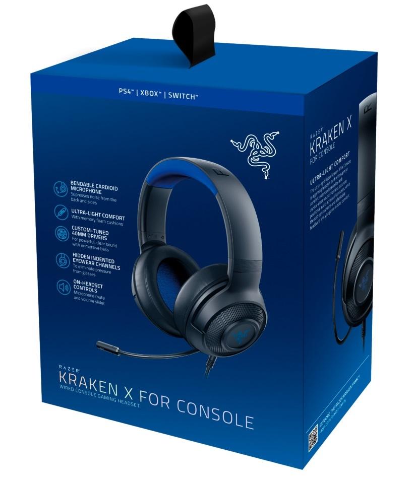 Razer Kraken X Gaming Headset for Consoles for PS4 image