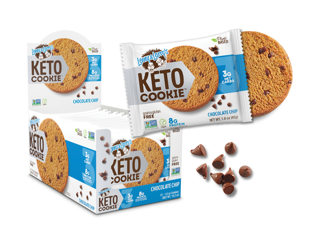 Lenny & Larry Keto Cookie - Chocolate Chip (12x45g)