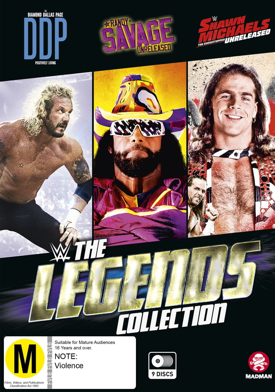 WWE: The Legends Collection on DVD