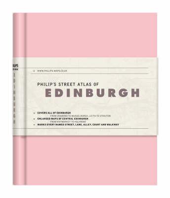 Philips Street Atlas of Edinburgh