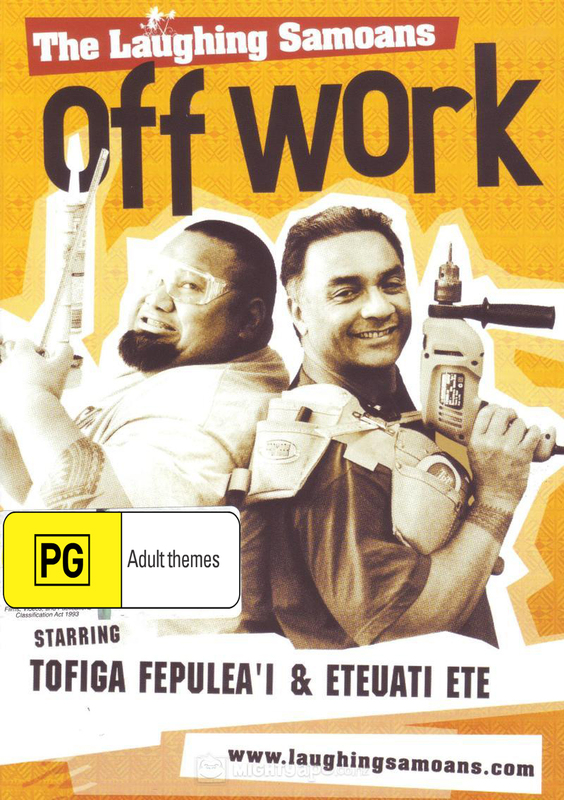 The Laughing Samoans - Off Work on DVD