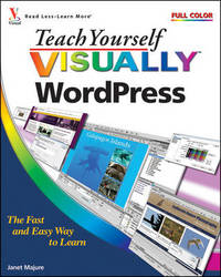 Teach Yourself Visually WordPress by Janet Majure image