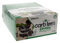 Horleys Carb Less Crunch Bars - Peppermint Rough (12 x 50g Pack)