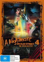 Nightmare On Elm Street 4, A - The Dream Master on DVD