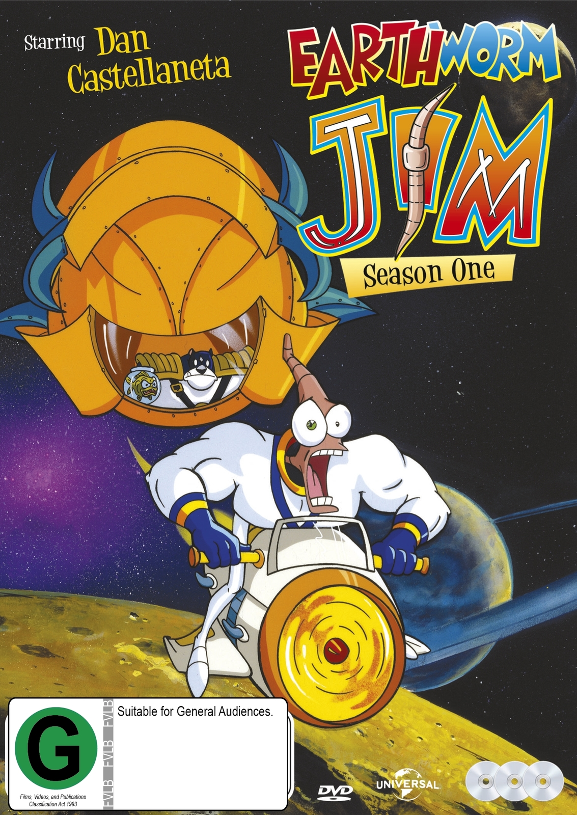 Earthworm Jim (Season 1) on DVD image