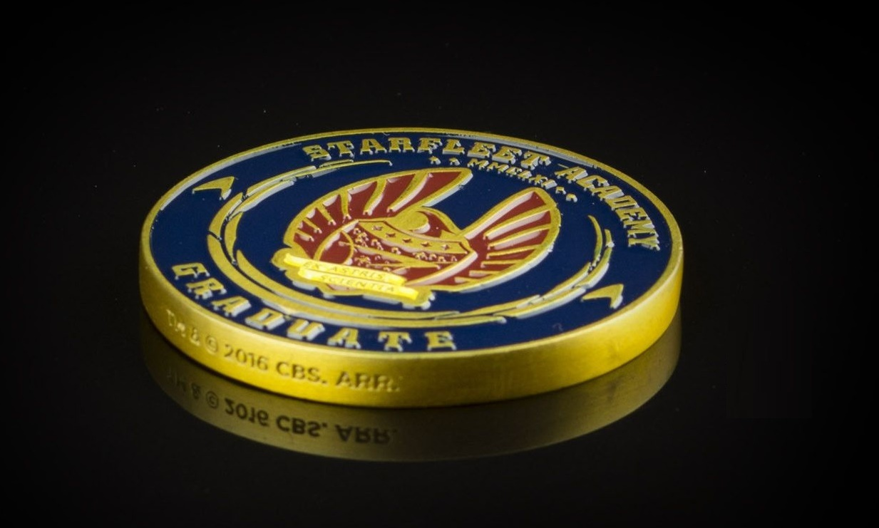 Star Trek - 50th Anniversary Challenge Coin image