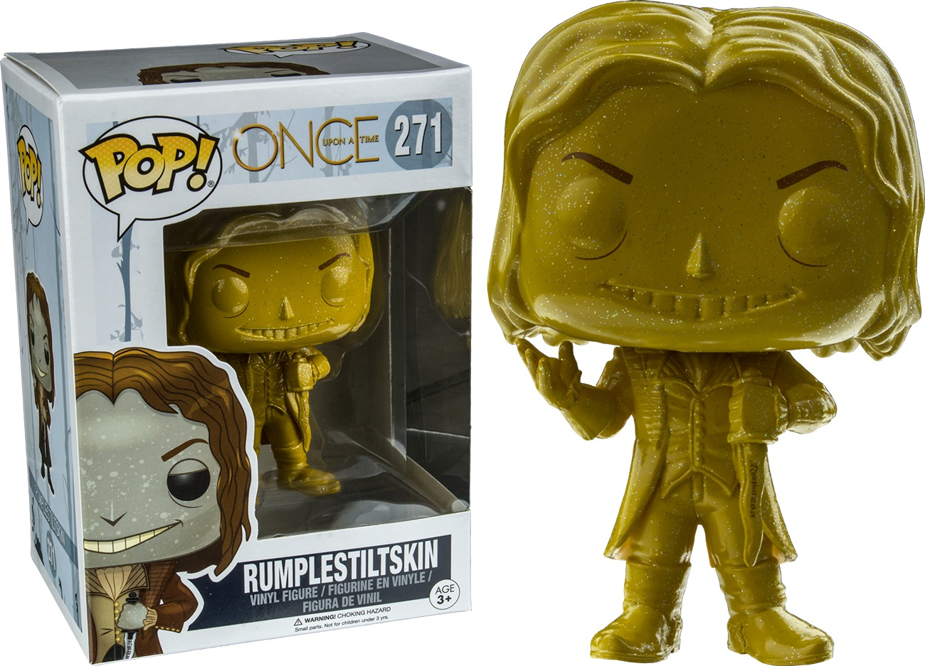 Once Upon a Time: Rumplestiltskin (Gold) Pop! Vinyl Figure image
