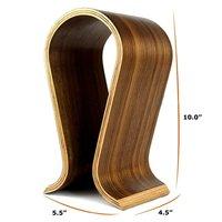Wooden Studio Headset Stand