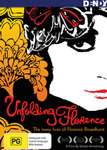 Unfolding Florence - The Many Lives Of Florence Broadhurst on DVD