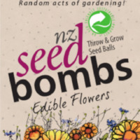 Eagles Rest: NZ Seed Bombs - Edible Flowers