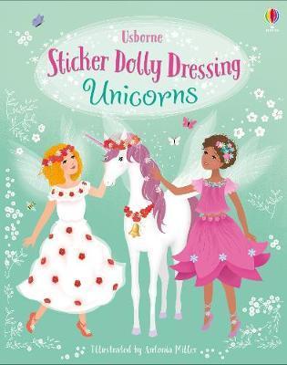 Sticker Dolly Dressing Unicorns by Fiona Watt