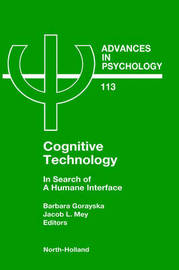 Cognitive Technology: Volume 113 image