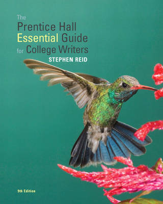 The Prentice Hall Essential Guide for College Writers by Stephen Reid image