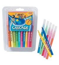 Bic: Kids Cascade Felt Tip Colouring Pens - Pack of 30 image