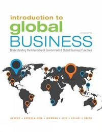 an introduction to the globalization of business