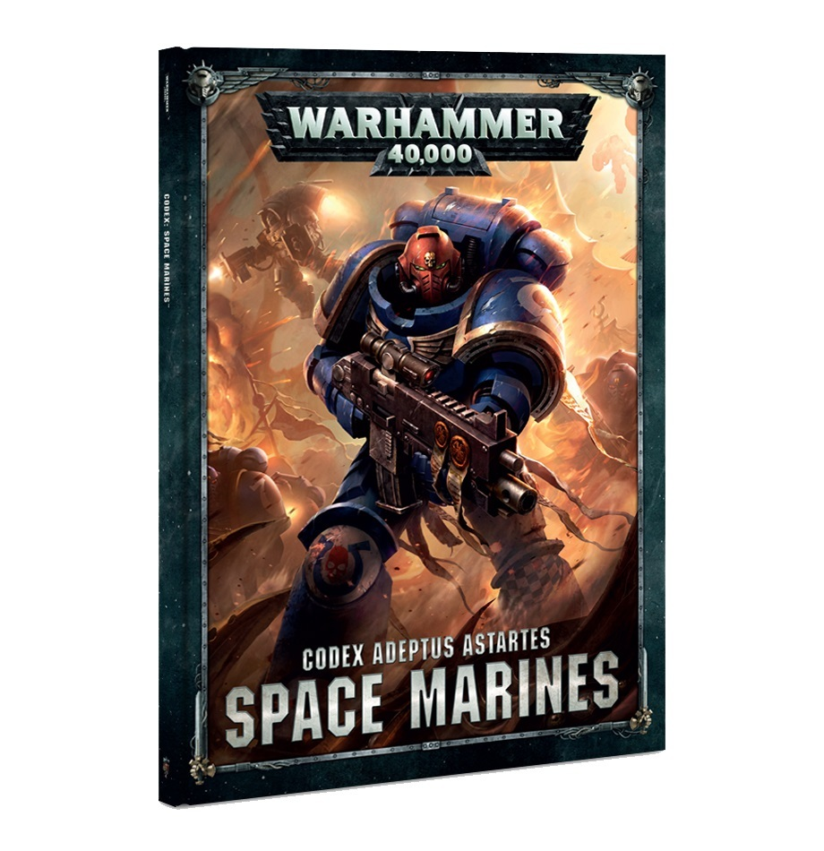 Warhammer 40,000 Codex: Space Marines image