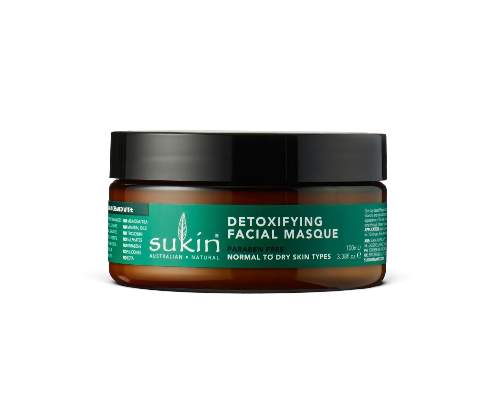 Sukin Supergreens - Detoxifying Clay Masque (100ml) image