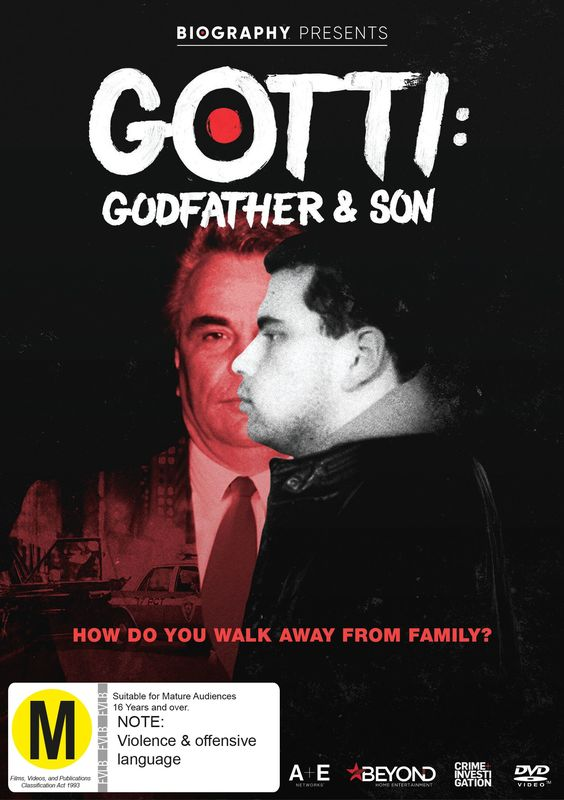 Gotti: Godfather and Son on DVD