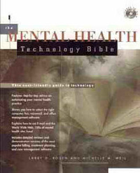 The Mental Health Technology Bible by Larry D. Rosen image