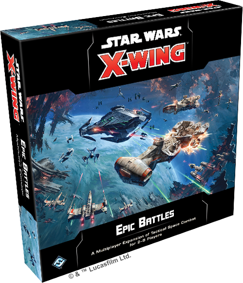 Star Wars X Wing 2nd Edition Epic Battles Multiplayer Expansion image