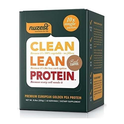 Nuzest Clean Lean Protein - Real Coffee (10x25g)