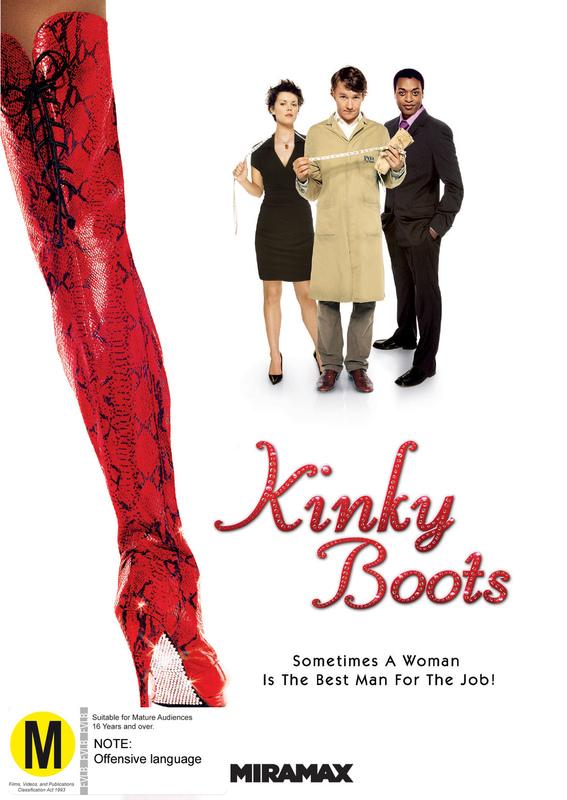 Kinky Boots on DVD