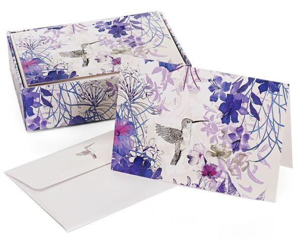 Hummingbird Note Cards (14 Cards/Envelopes)