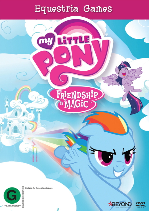 My Little Pony: Friendship is Magic: Equestria Games on DVD