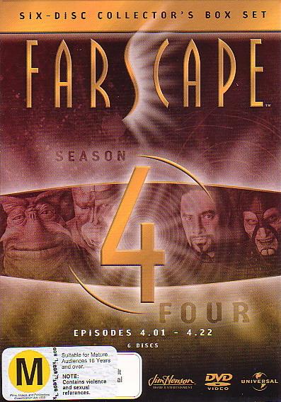Farscape - Season 4 (6 Disc Box Set) on DVD image