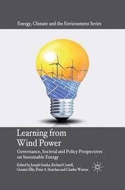 Learning from Wind Power by Joseph Szarka