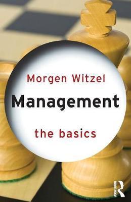 Management: The Basics by Morgen Witzel image