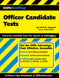 Officer Candidate Tests by Fred N Grayson image