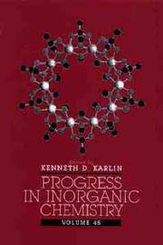Progress in Inorganic Chemistry: v. 45 by K.D. Karlin image