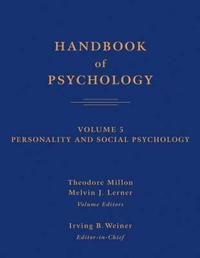 Handbook of Psychology: v. 5: Personality and Social Psychology image