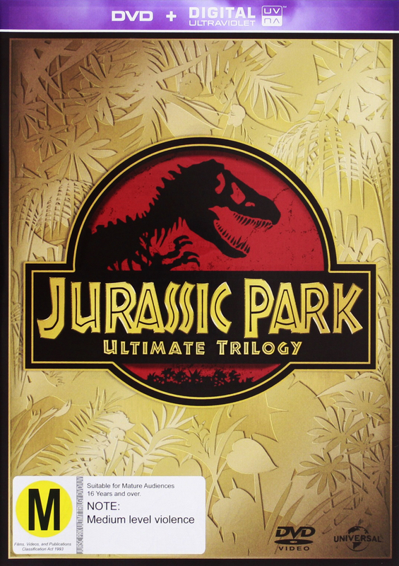 Jurassic Park Trilogy (3 DVD Collection) on DVD
