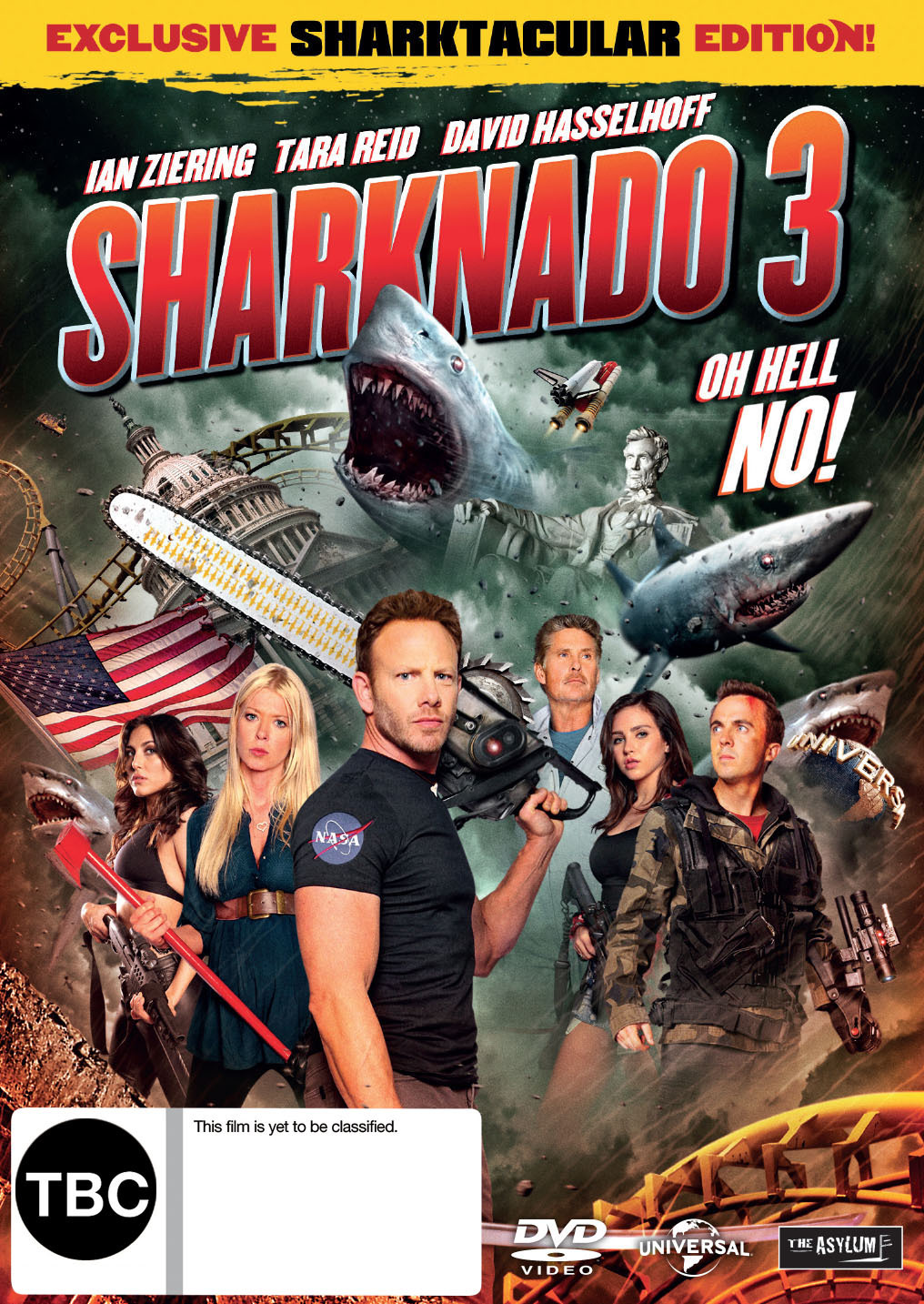 Sharknado 3 'Oh Hell No! on DVD image