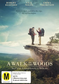 A Walk In The Woods on DVD